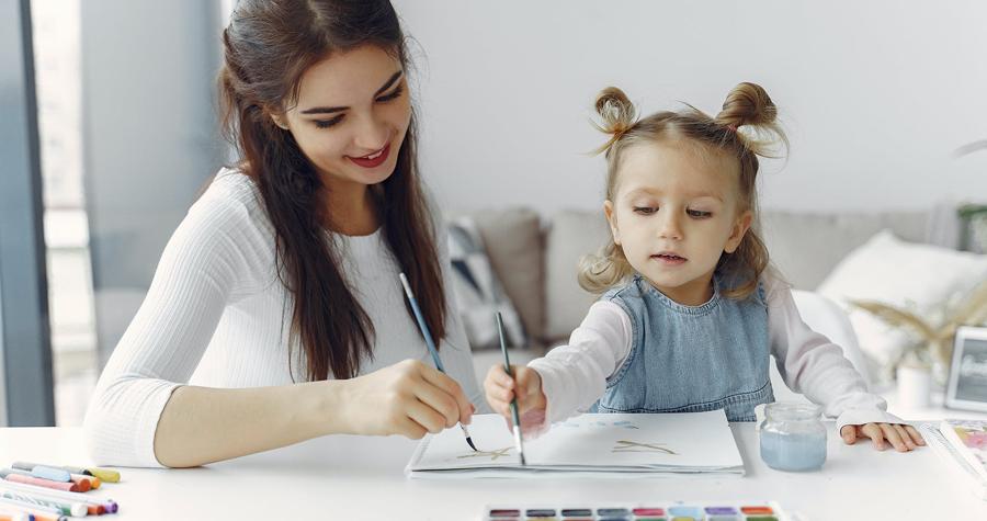 Atividades em casa cuidados com as crianças na quarentena