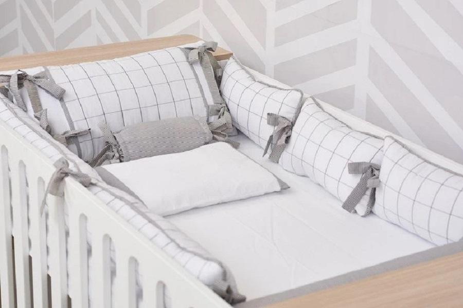 Enxoval do bebê: kits berço e cama práticos e delicados