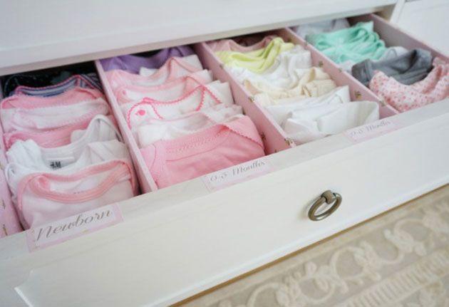 Roupas de bebê: veja dicas de como deixar tudo organizado