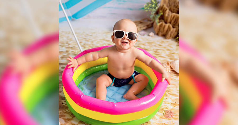 6 dicas de como aliviar o calor do bebê
