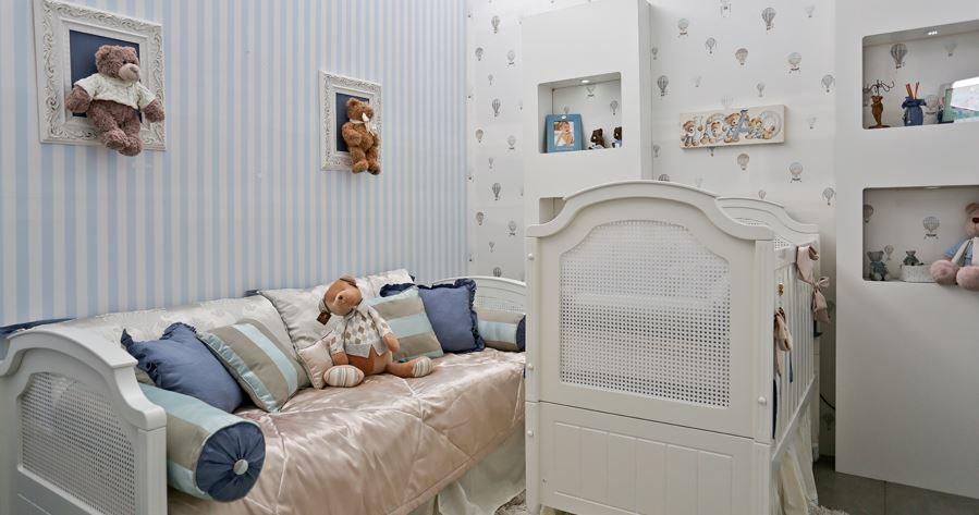Pouco espaço? É possível montar um quarto de bebê pequeno!