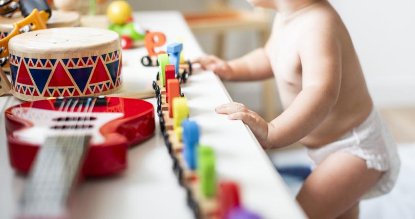 A influência das cores no quarto do seu bebê